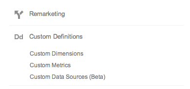 Google_Analytics - Custom Dimensions