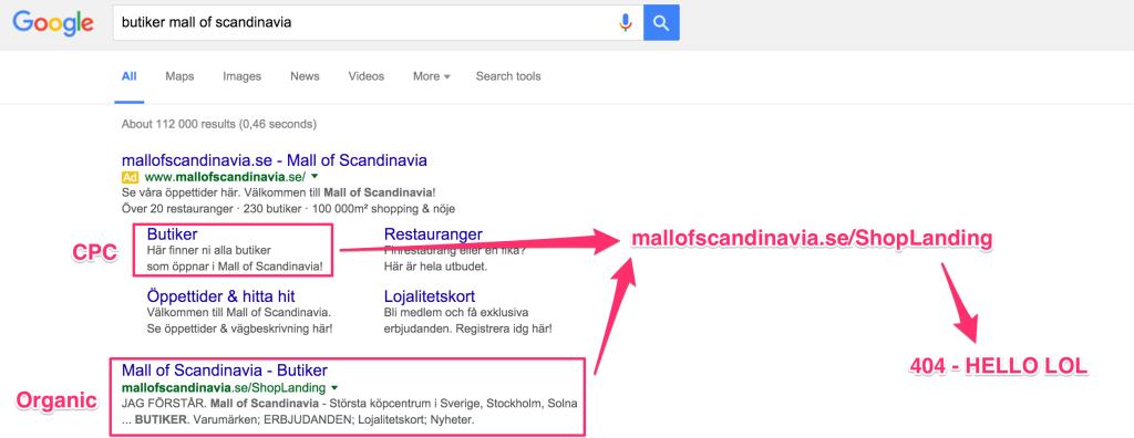 butiker-mall-of-scandinavia-google-serp
