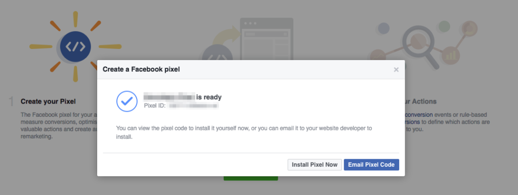 Facebook Pixel Install Now