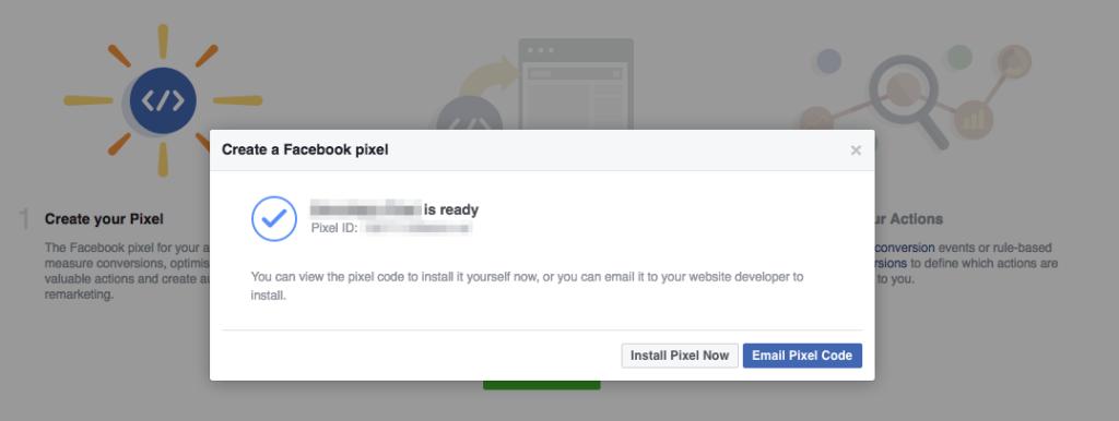 Facebook Pixel Install Now
