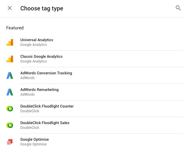 Google Tag Manager Tag Templates